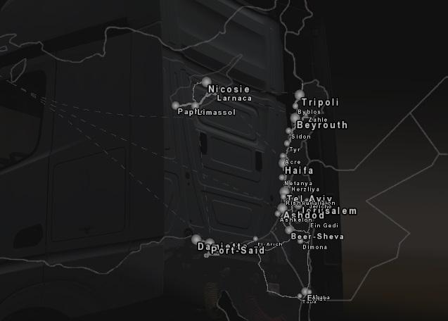 Euro Truck Simulator 2 ProMods 2.41 Ortadoğu