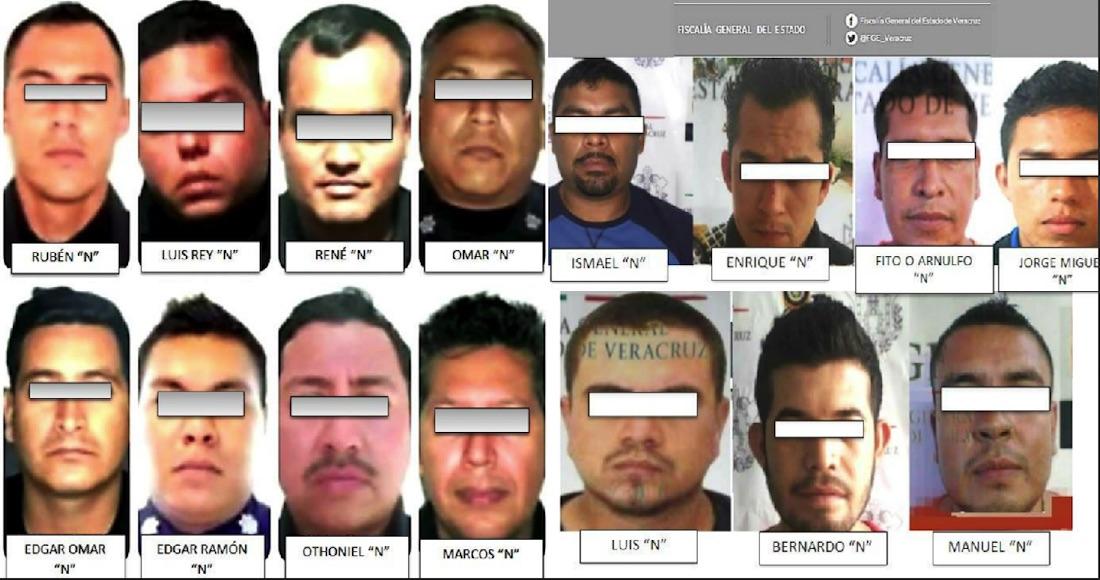 La Fiscalía de Veracruz finca responsabilidad a 15 policías por desaparecer a cinco jóvenes en Tierra Blanca en 2016