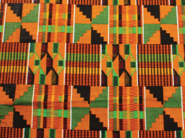 The first colorful kente cloth was worn by Otumfuo Nana Prempeh I, a former Ashanti king.
