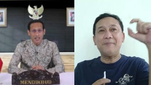 Mengaku Sering Bicara dengan Nadiem, Denny Siregar: Saya Optimis Pendidikan Indonesia Bisa Maju