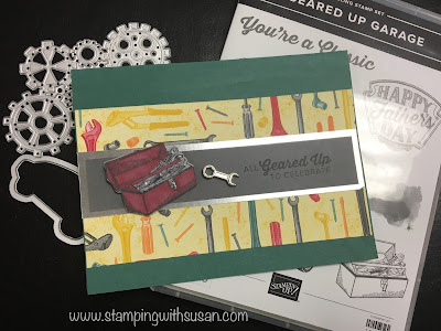 Stampin' Up!, Classic Garage, Classic Garage Metal Elements, Stampin' Blends