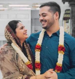 Vidyullekha Raman Marriage Photos