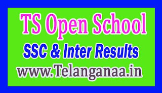 Telangana Open School SSC 2017 Exam Results