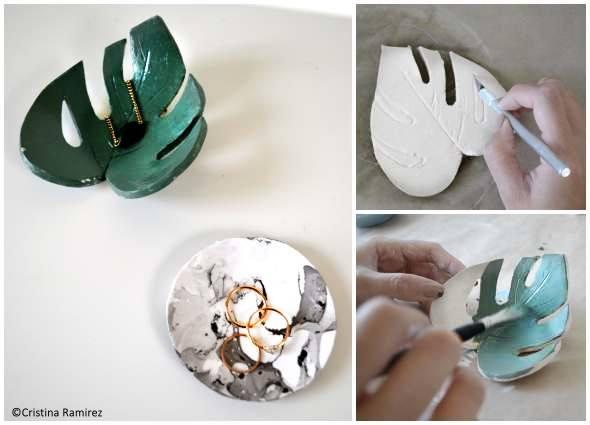 modelar cerámica, pintar cerámica, manualidades cerámica casera