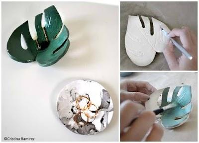 Cómo decorar y modelar cerámica menaje de mesa