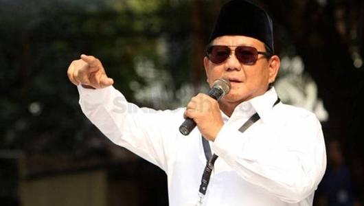 Gerindra Larang Media Liput Prabowo Salat Id di Hambalang