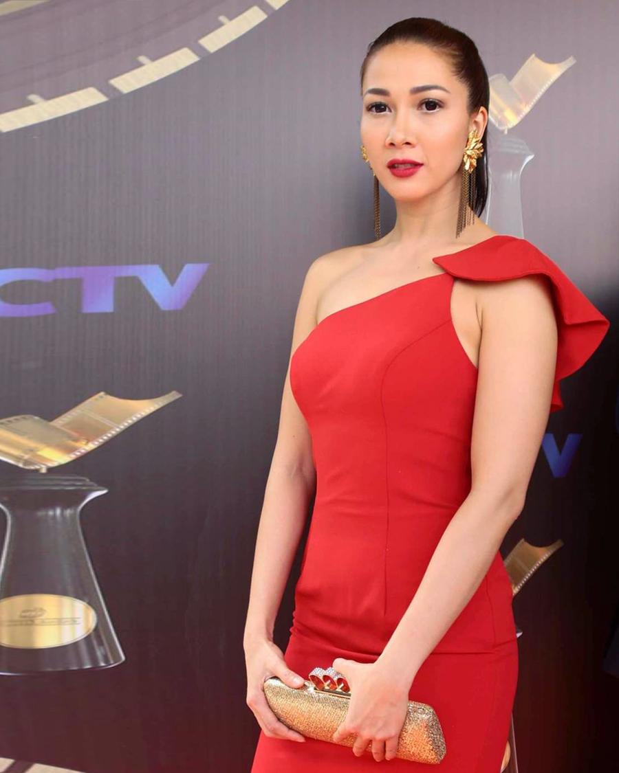 artis FTV Andrea Dian bibir merah tipsi