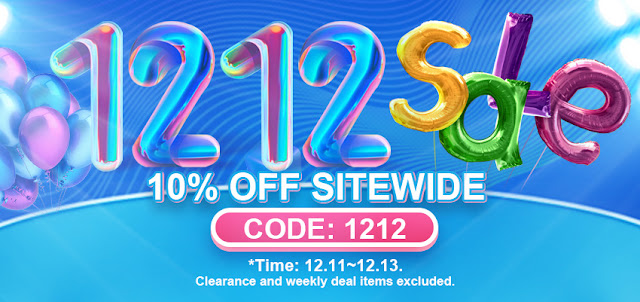 The  2020 12.12 Sale is running on!