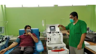 RSUD Provinsi NTB Punya Alat Khusus Donor Plasma Darah