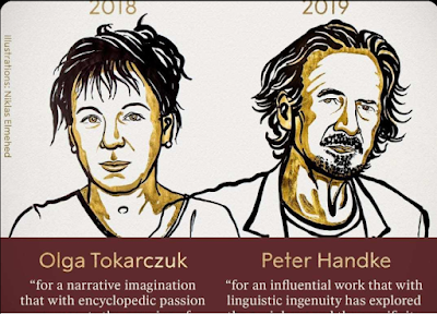 Nobel Prize in Literature 2018-2019 Awarded to Olga Tokarczuk and Peter Handke