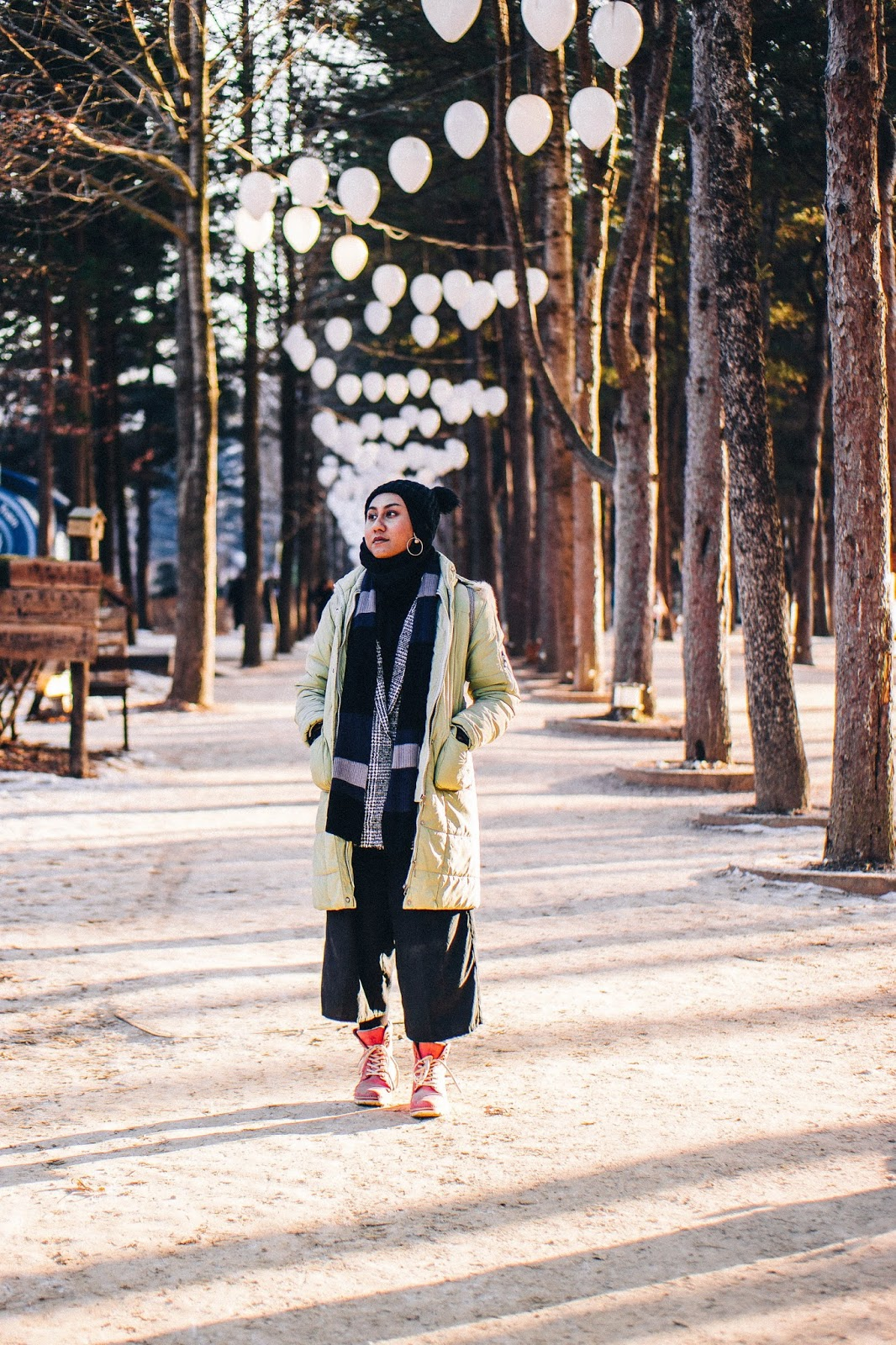Nami Island Winter : island, winter, Photo, Diary:, Winter, Island,, South, Korea, Weekender