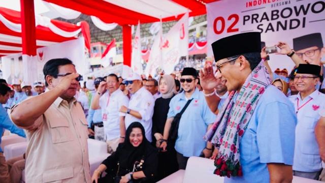 Saling Melengkapi, Sandiaga: Prabowo Militer, Saya Ekonom
