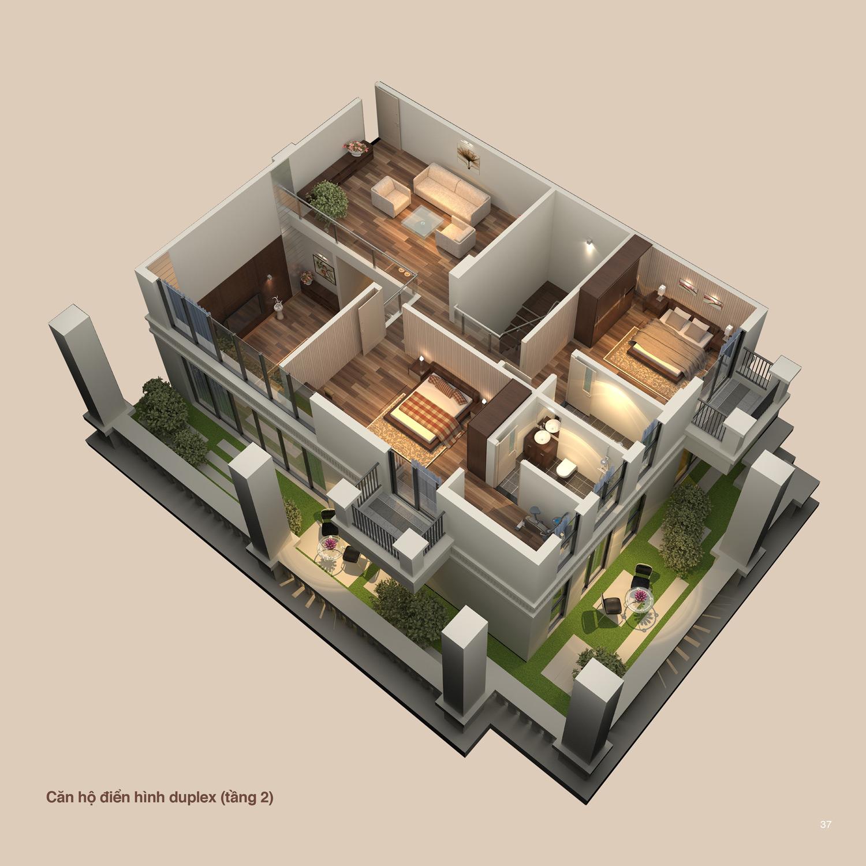 Căn hộ Duplex Tầng 1