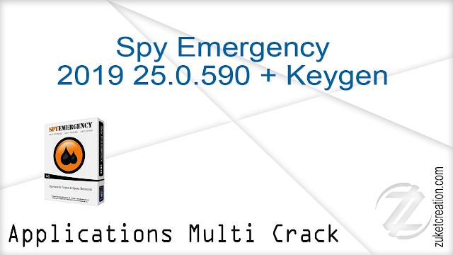 Spy Emergency 2019 25.0.590 + Keygen
