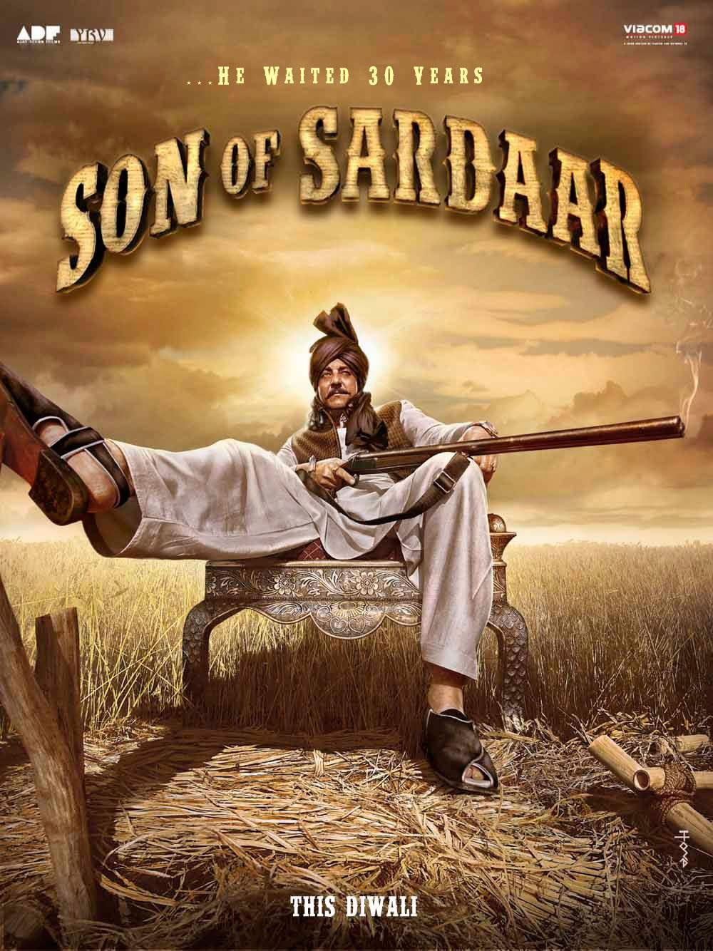 Son Of Sardaar First Look Trailer Preview Review Movie ...