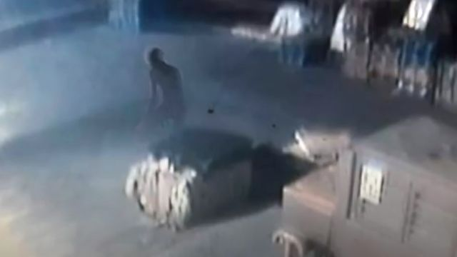 Security Cameras Record Mysterious Entities