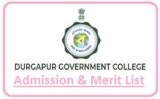 Durgapur Govt College Merit List