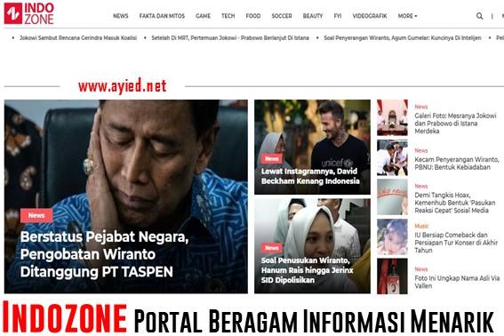 Indozone Portal Beragam Informasi Menarik