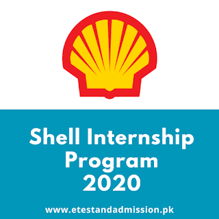Shell Pakistan Internship Program 2020