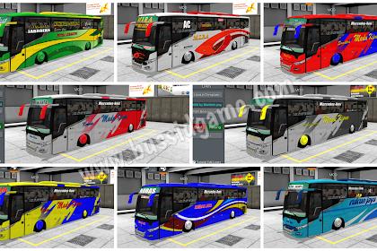 Koleksi Livery Mod Bus Scorpion X BSW By UMPmods Part 1