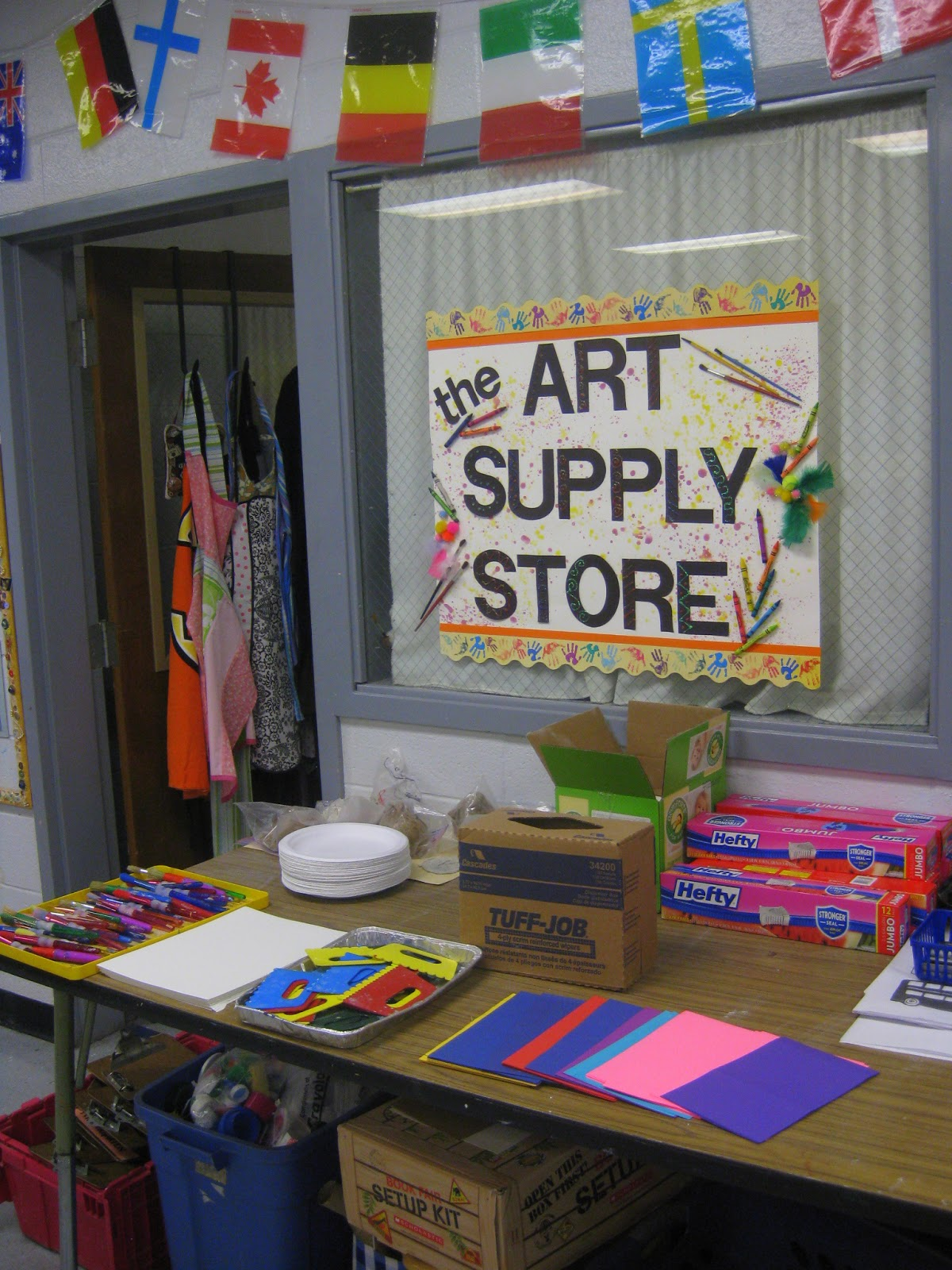 Classroom Decor Kit ~ Cassie stephens in the art room a day life