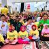 Lazis Mitra Ummat Ajak 400 Yatim dan Dhuafa  Balanjo Baju Rayo