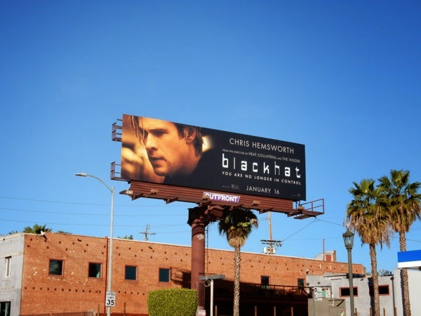 Blackhat movie billboard
