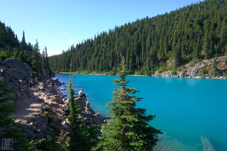 Le Chameau Bleu - Randonnée au Garibaldi Lake - Trail