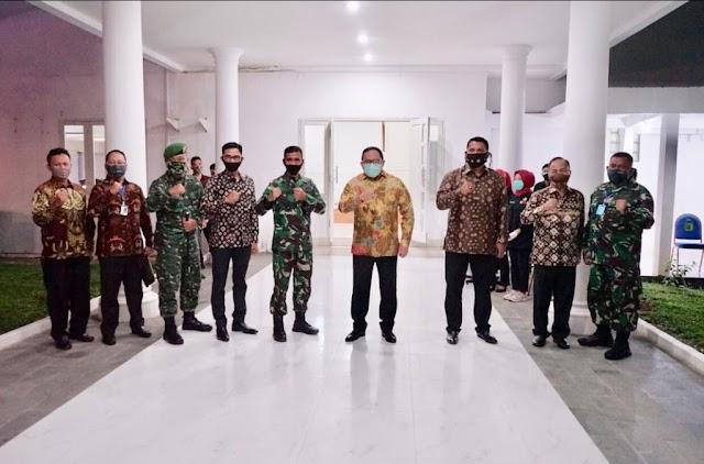Kasdam II / Sriwijaya Brigjen TNI Muhammad Zamroni, S.IP : Saling Jaga Bangun Solidaritas Cegah Penyebaran Virus Corona