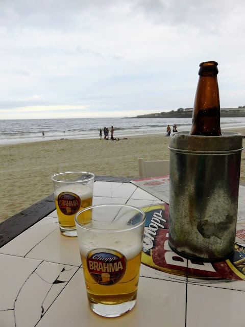 What to drink in Rio de Janeiro: beer on Copacabana Beach