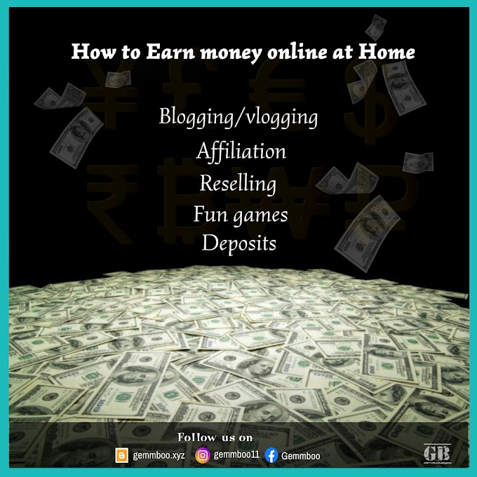 How to Earn Money Online at Home   Passive Income Ideas   5 Ways to Earn Money Online from home without investment   Online earning sites