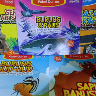 Paket Fabel Qur'an Buku Cerita Anak Muslim