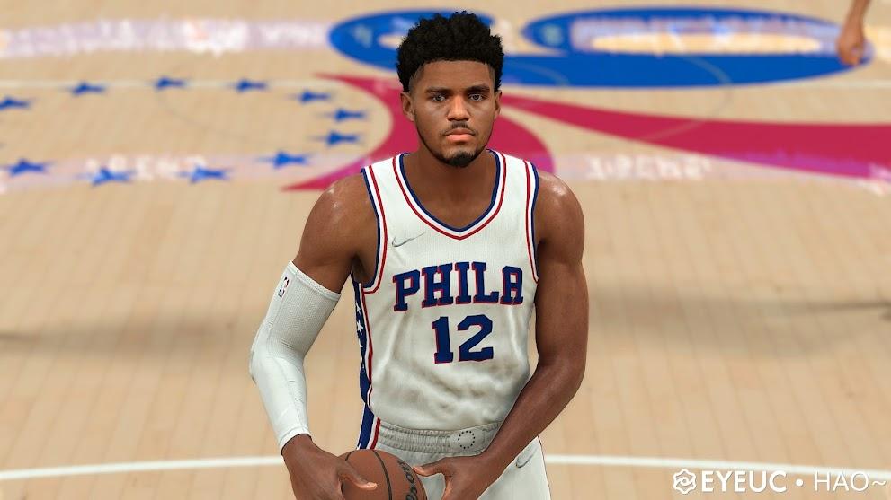 NBA 2K22 Tobias Harris Cyberface and Body Model by HAO
