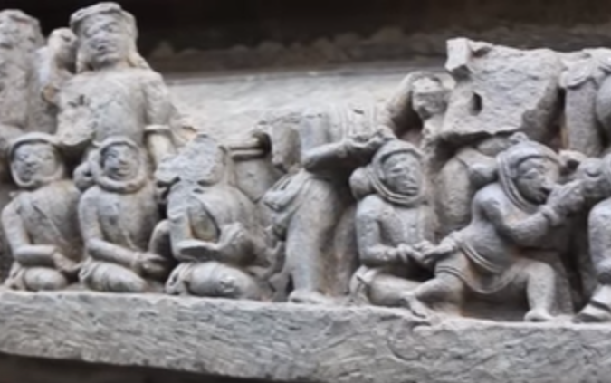 ufo sightings news ancient astronauts carved in hoysaleswara temple