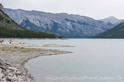 Lake Minnewanka, Banff, 班芙