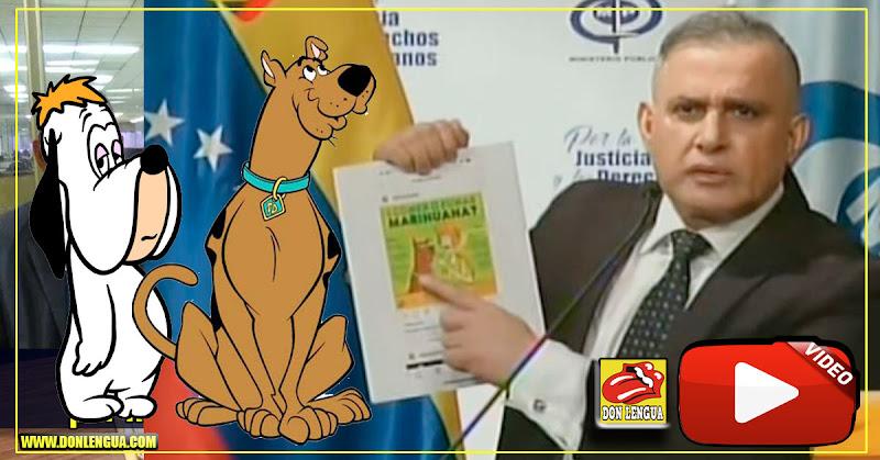 Tarek William Saab confundió a Droopy con Scooby Doo mientras presentaba lo que trafica El Aissami