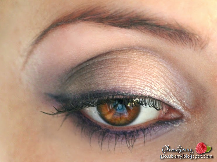 clarins ombre minerale 4 couleurs eye quartet mineral palette  vibrant light wet dry 12 purples   opulescence review swatch סקירה צלליות סגולות קלרינס בלוג איפור וטיפוח גלוסברי glossberry eye look wonder mascara מראה איפור הדגמה