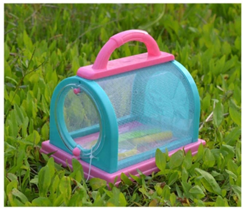 70%  off Creative Bug Box Observation Insect Cage Child Toy with Magnifying Lens and Tweezers Prisms & Kaleidoscopes