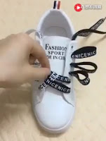 LOOK COOL! Check out this awesome ways to tie shoe laces in seconds (VIDEO)