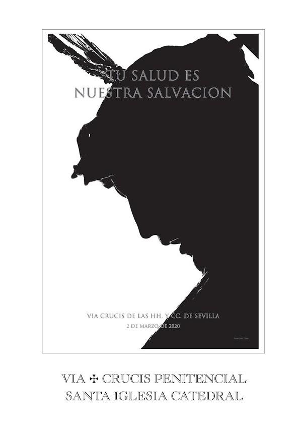Lectura del Via Crucis Penitencial en la Santa Iglesia Catedral de Sevilla