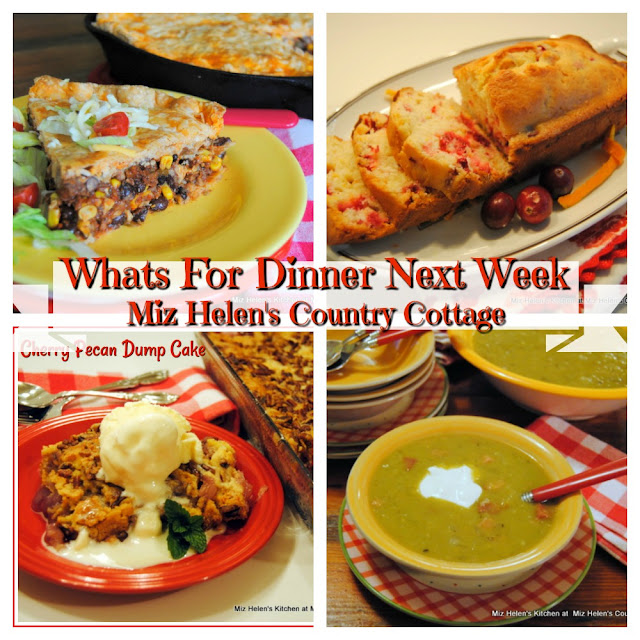 Whats For Dinner Next Week,1-12-20 at Miz Helen's Country Cottage