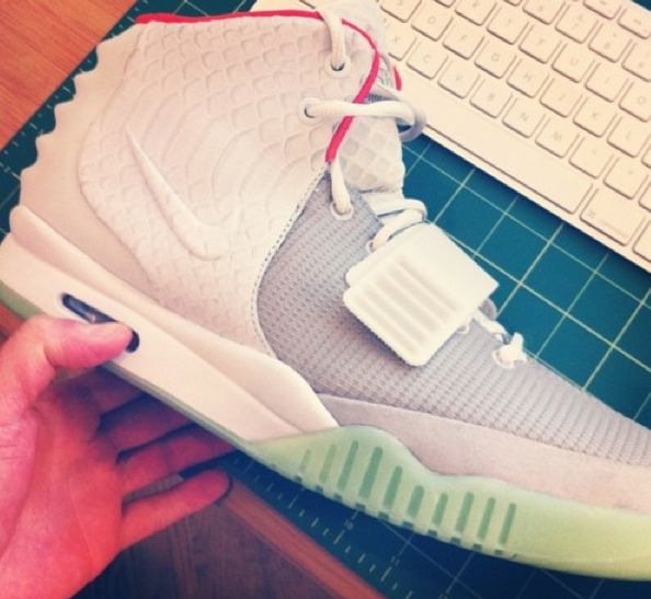 9ef9d52f6 New Yeezy 2 Wolf Grey images. Shouts to Nike Talk. Wolf Grey Pure Platinum