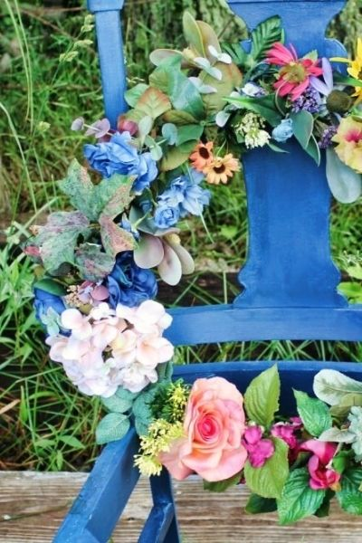 Summer Wreath | On The Creek Blog // www.onthecreekblog.com