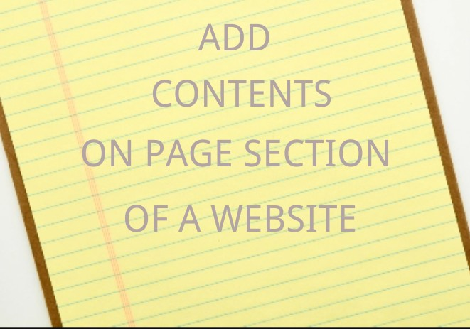 LEARN TO DROP CONTENTS AND SEARCH CONTENTS ON PAGES OF A WEBSITE