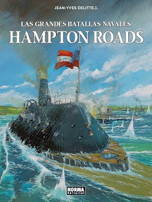 Las grandes batallas navales. Hampton Roads - Jean-Yves Delitte (2019)