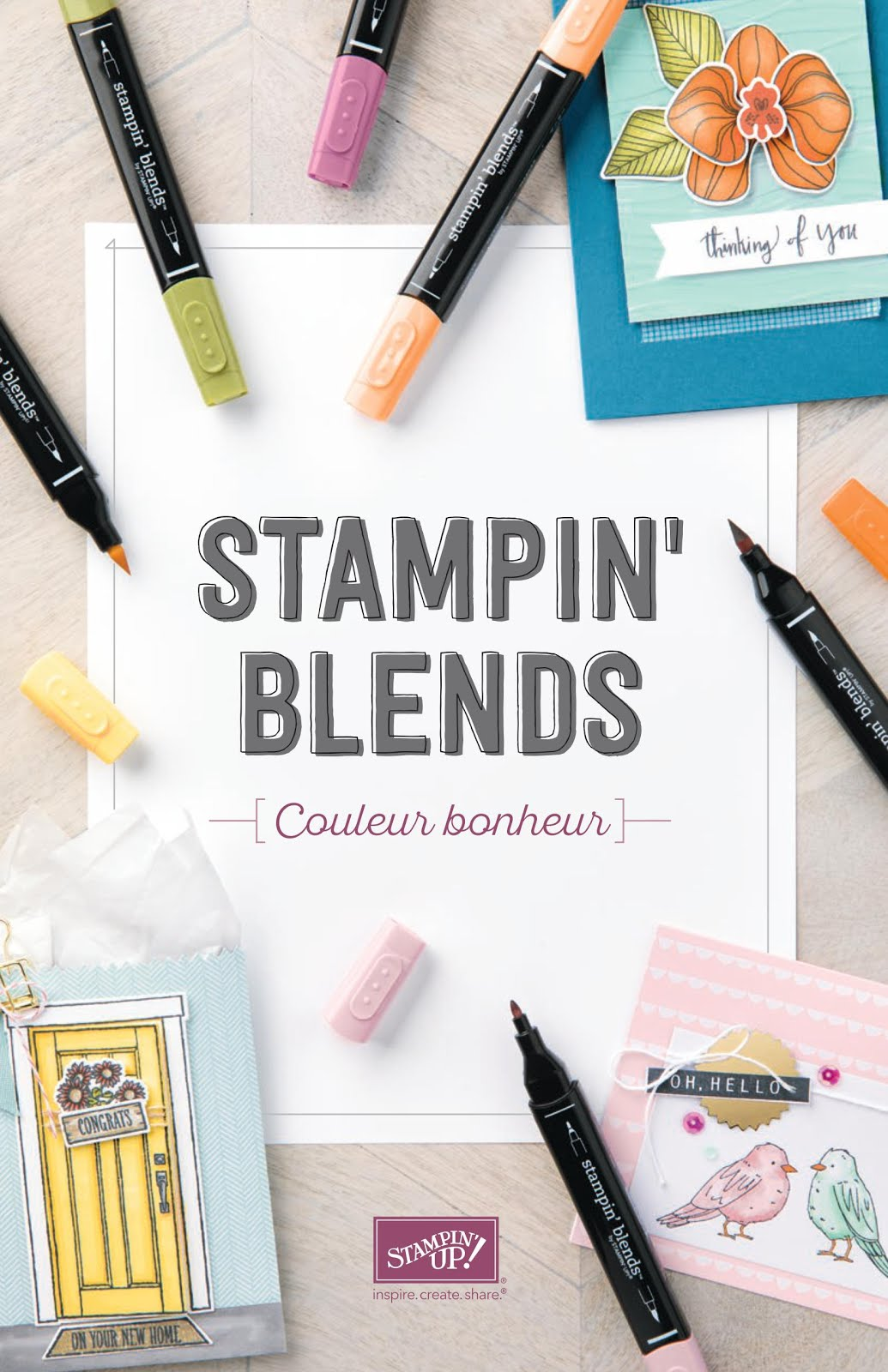 BROCHURE STAMPIN BLENDS