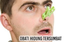 Obati hidung tersumbat Untuk mencegah atau mengurangi dengkur