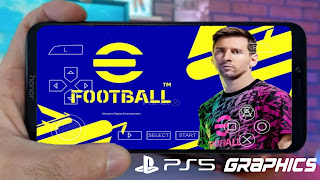 eFootball PES 2022 PPSSPP Camera PS5 Android Offiline Best Graphics