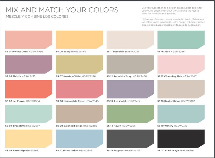Our Porch Refresh: The Power Of Paint-paint choices from HGTV Home by SW
