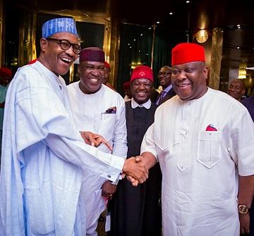 BIAFRA: Igbo Leaders In Closed Door Meeting With Buhari At Aso Rock, See Photos